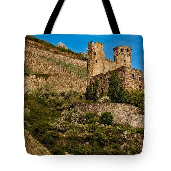 Ehrenfels Castle Ruin Tote Bag by Jill Smith