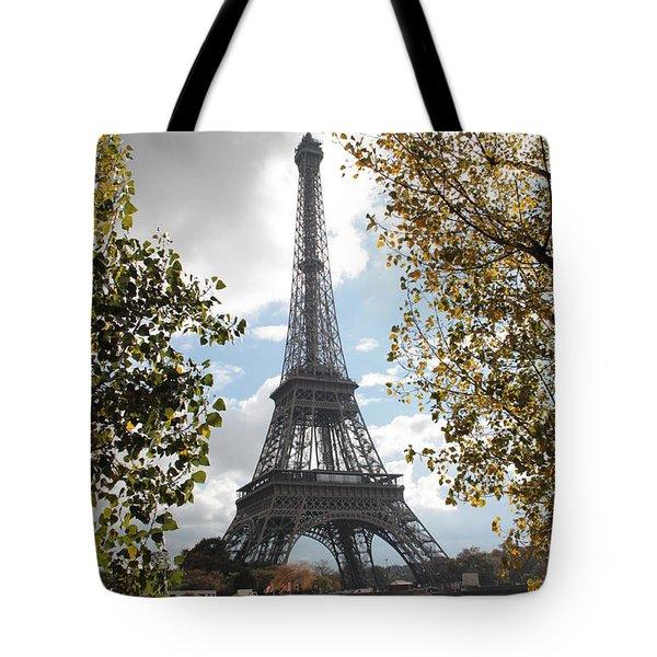 Eiffel From Avenue De New York Tote Bag