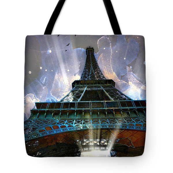 Eiffel Tote Bag by John Rivera