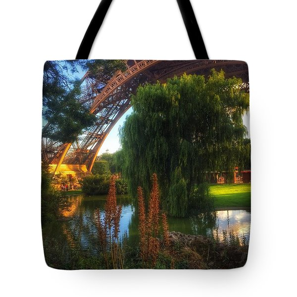 Eiffel Tote Bag by Marty Cobcroft