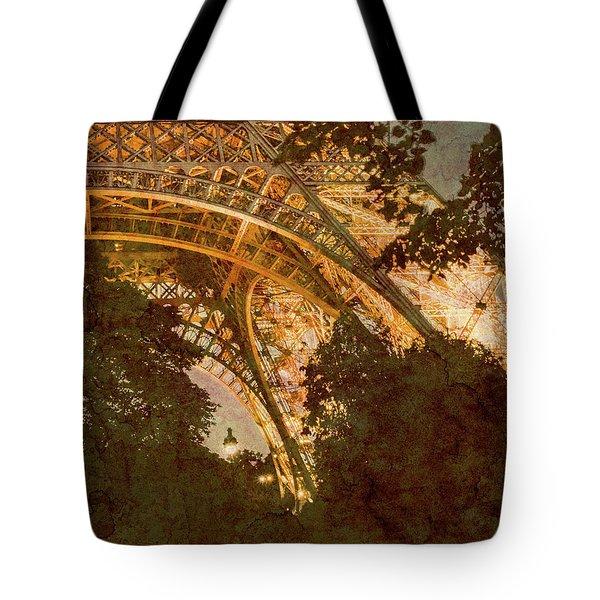 Paris, France - Eiffel Oldplate II Tote Bag