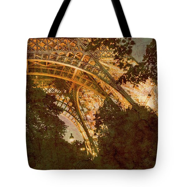 Paris, France - Eiffel Oldplate II Tote Bag