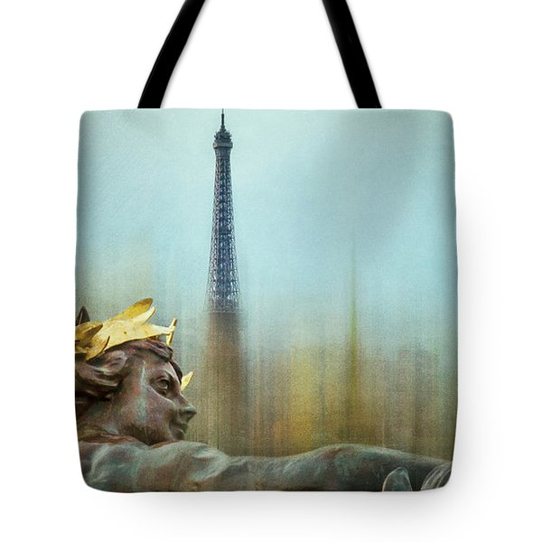 Eiffel Tower 1 Tote Bag by Marty Garland