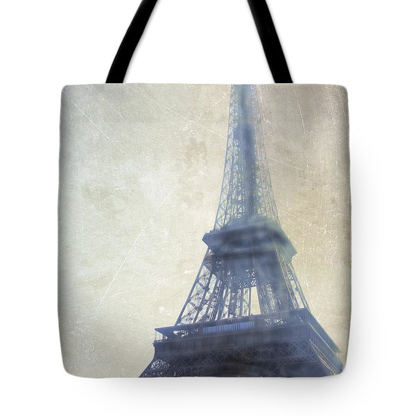Eiffel Tower Tote Bag by Catherine Alfidi