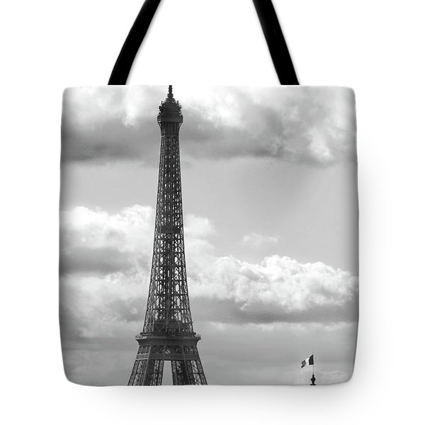 Eiffel Tower From Galeries Lafayette Rooftop Tote Bag
