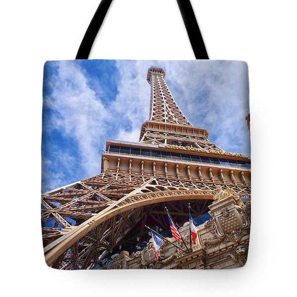 Eiffel Tower Las Vegas  Tote Bag