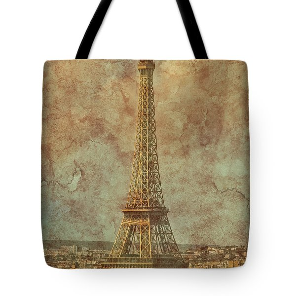 Paris, France - Eiffel Tower Tote Bag