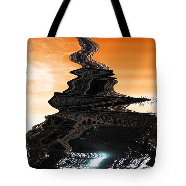 Eiffel Tower Tripping Tote Bag
