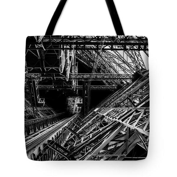 Eiffel Tower Tote Bag by M G Whittingham