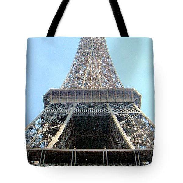 Eiffil Tower Paris France  Tote Bag
