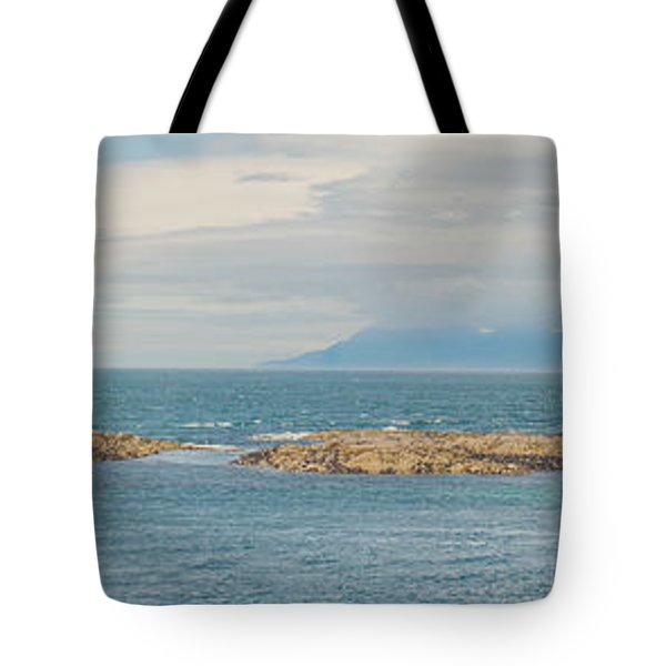 Eigg And Rum Tote Bag