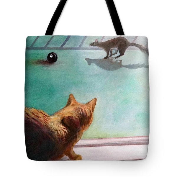 Eight Ball Tote Bag