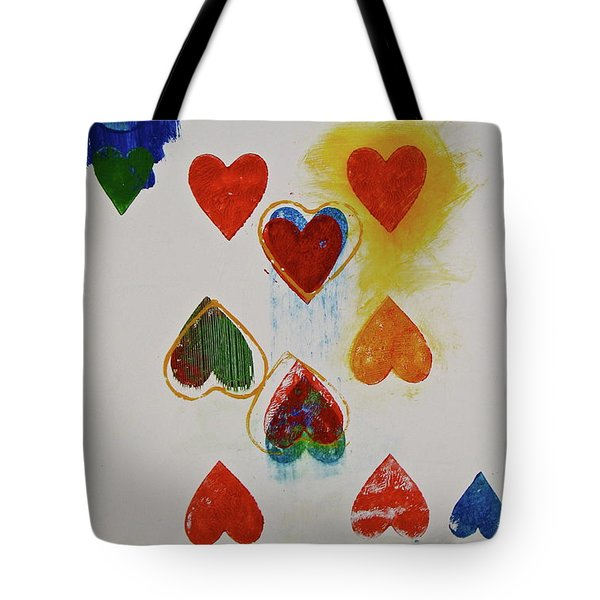 Eight Of Hearts 9-52  2nd Series  Tote Bag by Cliff Spohn