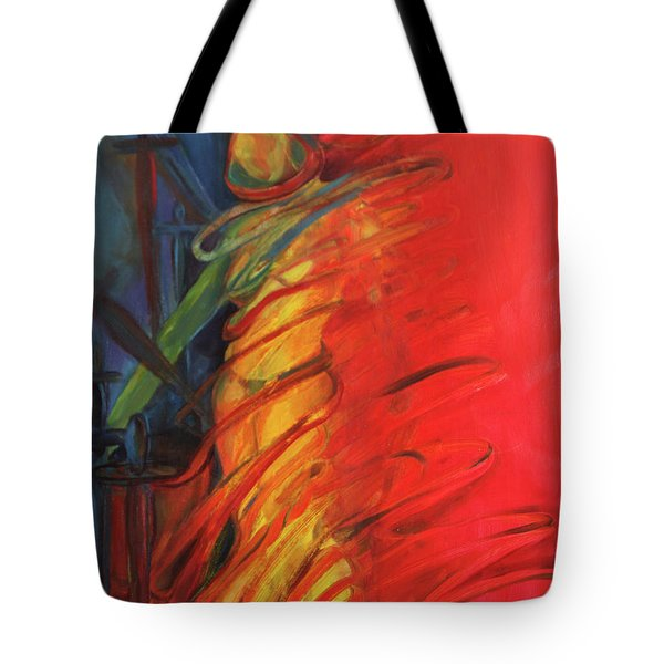 Eight Of Swords Tote Bag by Daun Soden-Greene