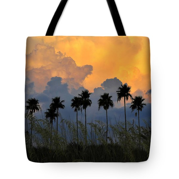 Eight Palms Tote Bag by David Lee Thompson