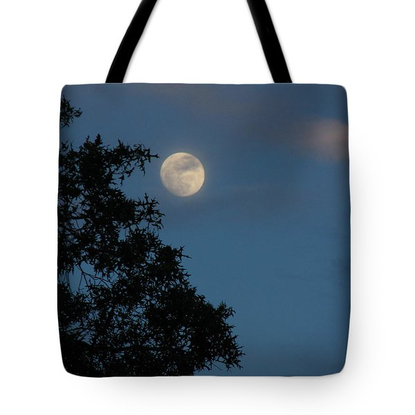 Tote Bag featuring the photograph Eight Thirty Two Pm by Greg Patzer