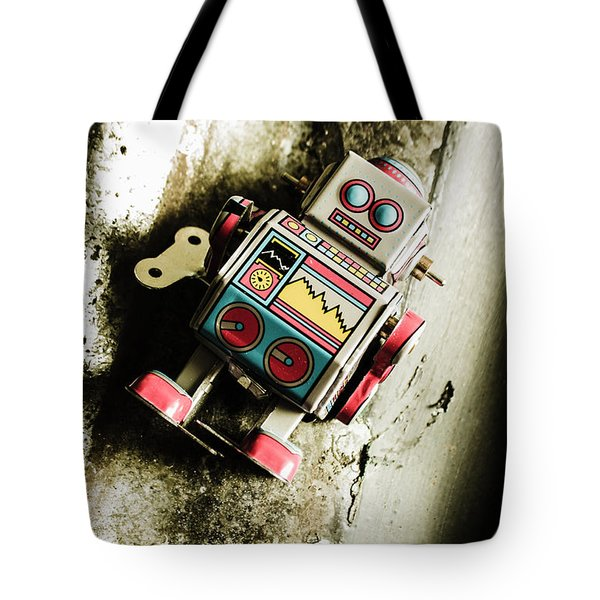 Eighties Cybernetic Droid  Tote Bag