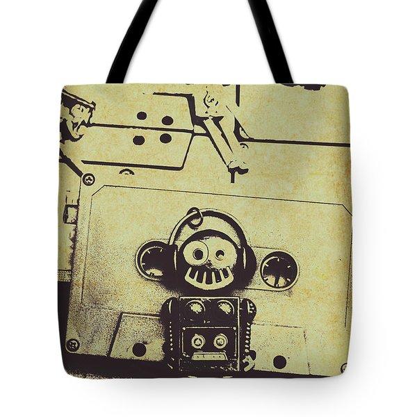 Eighties Rewind  Tote Bag