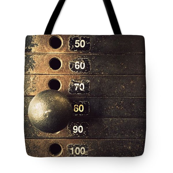Eighty Tote Bag by Joseph Skompski