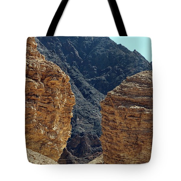 Eilat-israel Tote Bag by Denise Moore