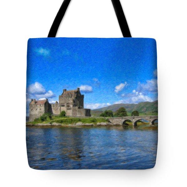 Eilean Donan Castle - Sct671252 Tote Bag