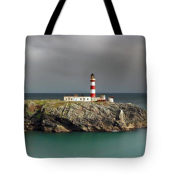 Eilean Glas Lighthouse Tote Bag