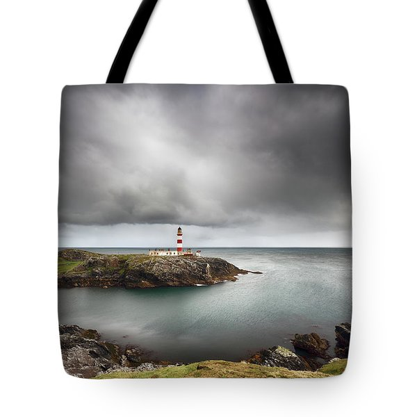 Eilean Glas Lighthouse, Scalpay Tote Bag