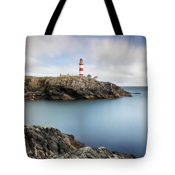 Eilean Glas Lighthouse Scotland Tote Bag
