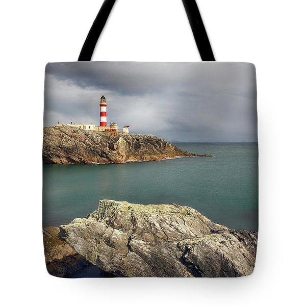 Eilean Glas Lighthouse, Western Isles. Tote Bag