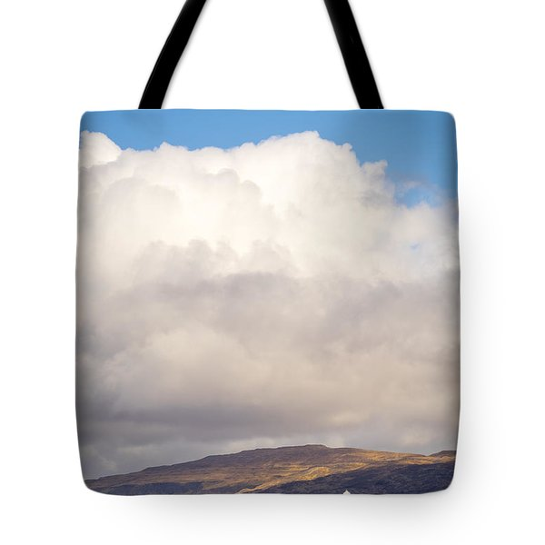 Eilean Musdile Lighthouse On Lismore Tote Bag