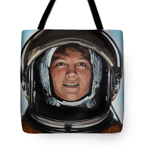 Eileen Collins Tote Bag by Simon Kregar