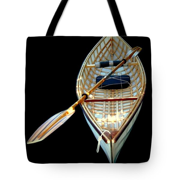 Eileen's Canoe Tote Bag by Dale   Ford