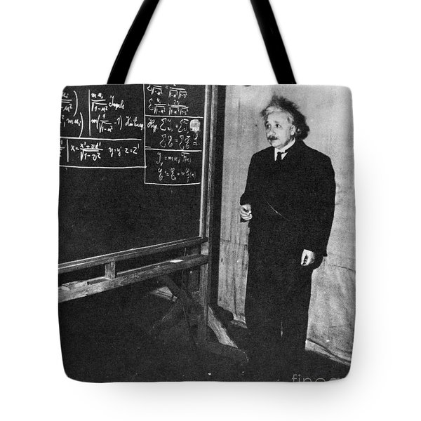 Einstein At Princeton University Tote Bag by Science Source