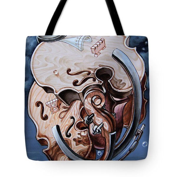 Einstein's Violin. Op.2763 Tote Bag