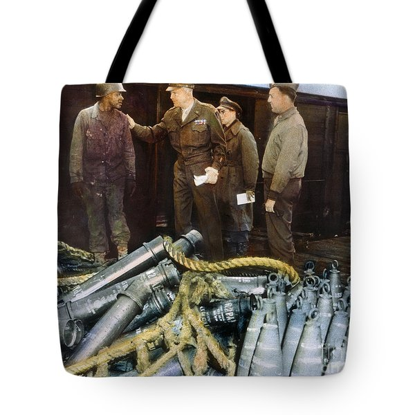 Eisenhower: Wwii, C1944 Tote Bag by Granger