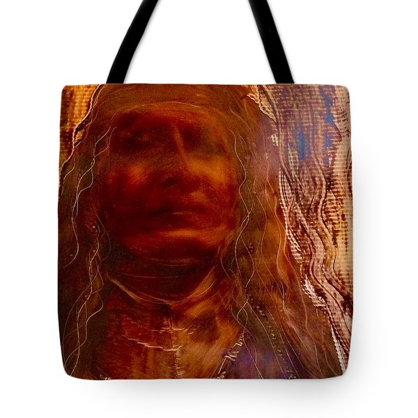 Tote Bag featuring the painting Wisdomkeepers by FeatherStone Studio Julie A Miller