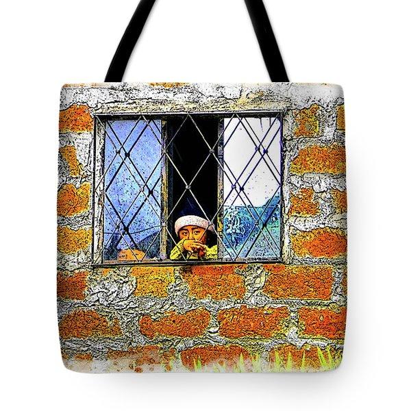 El Altar Kid 872 Tote Bag