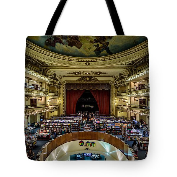 El Ateneo Grand Splendid Tote Bag by Randy Scherkenbach