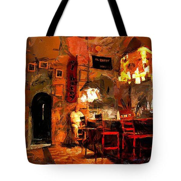El Batey Tote Bag