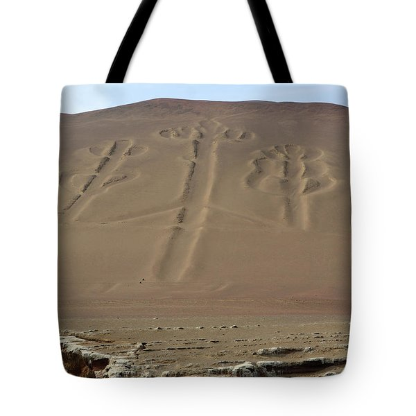 Tote Bag featuring the photograph El Candelabro by Aidan Moran