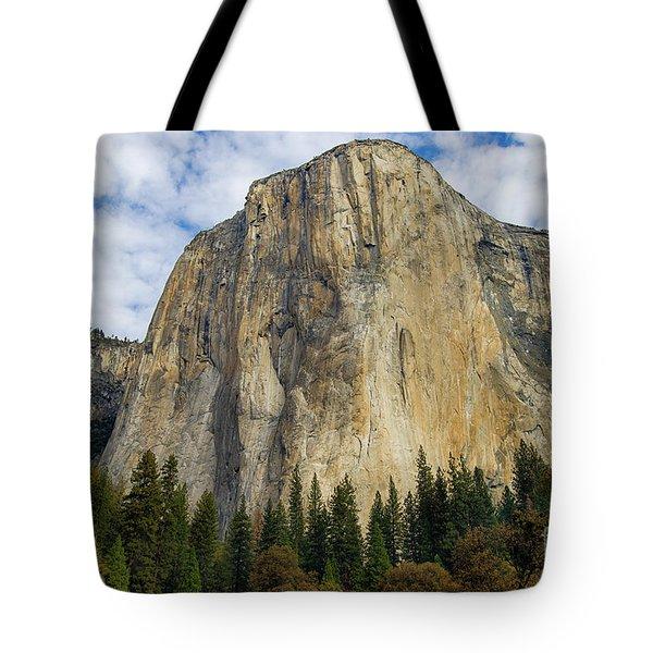 Tote Bag featuring the photograph El Cap #2 by Vincent Bonafede