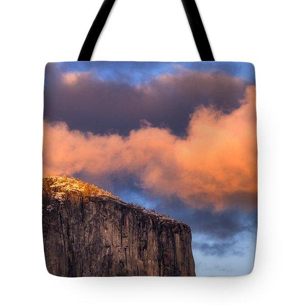 El Cap Glow Tote Bag