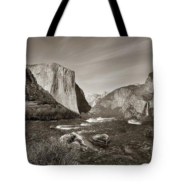 El Capitan Tote Bag by Joseph G Holland