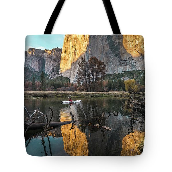 El Capitan Sunset Tote Bag