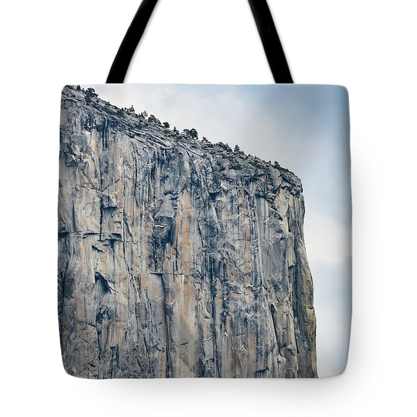 El Capitan Up Close And Personal From Tunnel View Yosemite Np Tote Bag