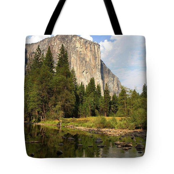 El Capitan Yosemite National Park California Tote Bag