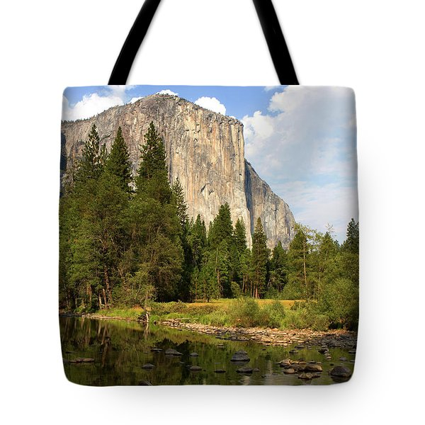 Tote Bag featuring the photograph El Capitan Yosemite National Park California by Steven Frame