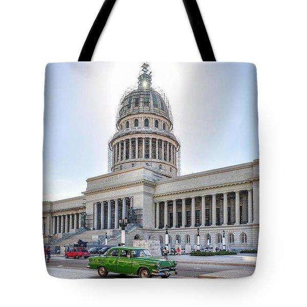El Capitolio Tote Bag