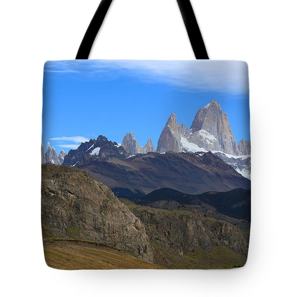 Tote Bag featuring the photograph El Chalten by Andrei Fried