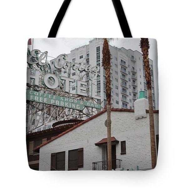 El Cortez Hotel Las Vegas Tote Bag